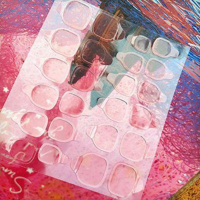 穿戴美甲专用果冻胶超粘防水透明果冻双面贴儿童孕妇可用果冻胶