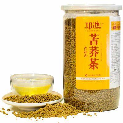 邛池正品 苦荞茶 荞麦茶500g/瓶 四川大凉山原味麦香特级包邮