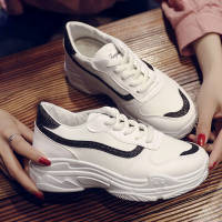 网红小白鞋2019春新款鞋子女学生韩版百搭运动鞋ins原宿风老爹鞋