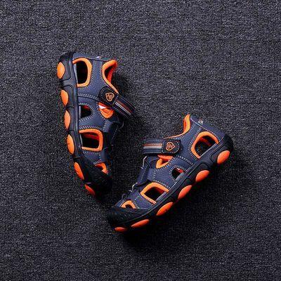 彼得潘正品男童凉鞋2020夏季新款儿童鞋小男孩学生包头沙滩鞋P352