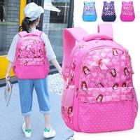 一件代发小学生公主书包女儿童轻便减负护脊小女孩可爱双肩背包