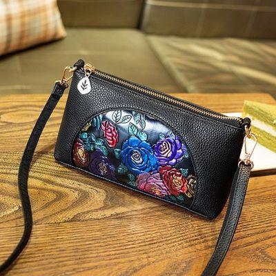 中年女包2019新款韩版软皮斜挎包老年奶奶单肩包妈妈婆婆买菜小包