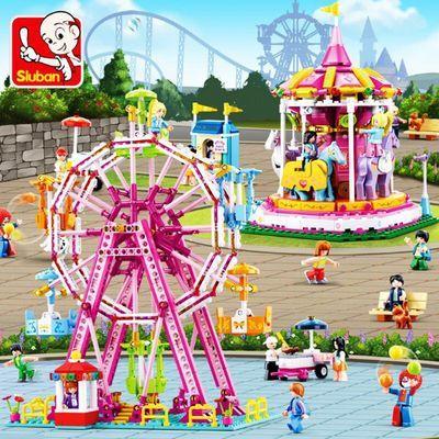 兼容乐高城市拼装女孩系列公主城堡花园别墅儿童益智玩具积木6-10