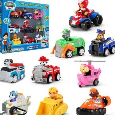 儿童玩具汪汪队立大功玩具套装车男女孩玩具车