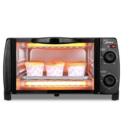 美的烤箱T1-108B家用美的小烤箱专业烧烤烘焙迷你10L小容量特价