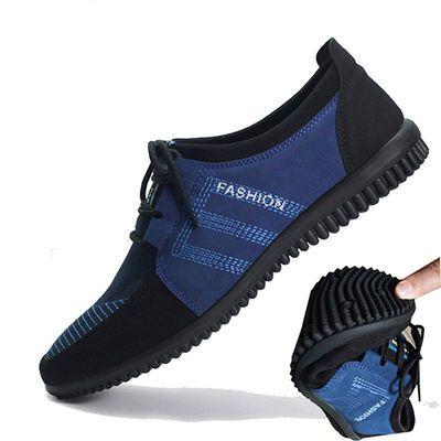 正品老北京布鞋男鞋单鞋春秋季潮鞋透气休闲软底鞋中年男士布鞋子