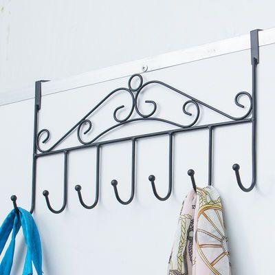 厨房门背挂衣钩洗手间置物架门上挂衣架门后挂钩免