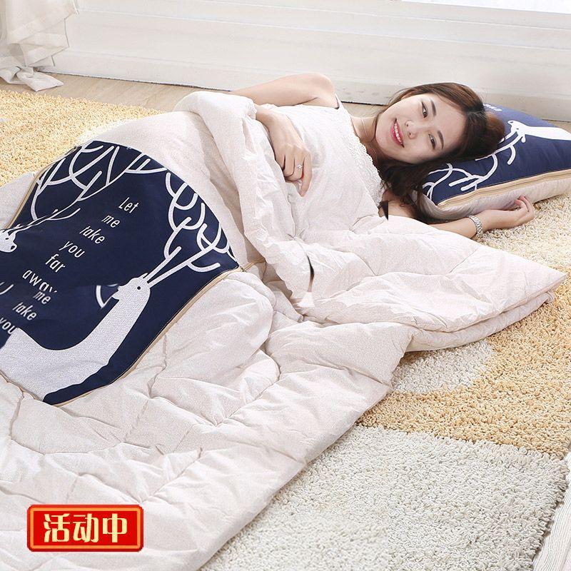两用抱枕被子午睡车载抱枕被汽车靠垫靠枕空调被多功能沙发枕头被
