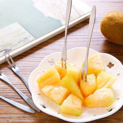 【亏本冲量】1/20装水果叉水果签甜品叉蛋糕叉小叉子