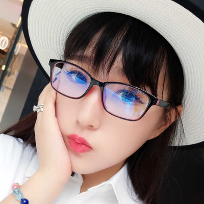 儿童防辐射小孩眼镜架女90轻平光镜配近视眼镜男小学生眼镜框