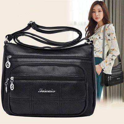 中年女包妈妈包2020新款包包女士简约大容量单肩包斜挎包小包