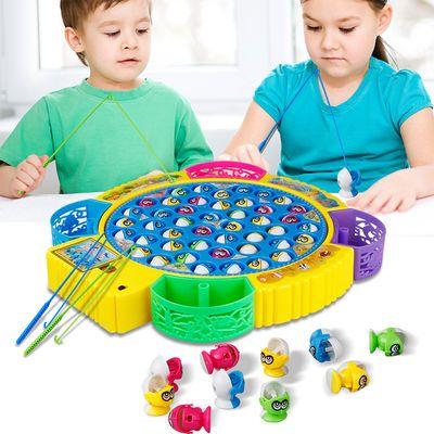 小童玩具创业宝孩儿贝捞鱼网船遥控竿女桶三岁幼虫子男的沙池游乐