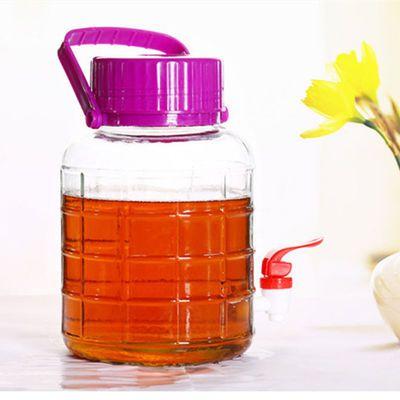 按压抽空式玻璃密封罐高鹏硅玻璃罐保鲜容器腌菜泡菜酵素瓶储物