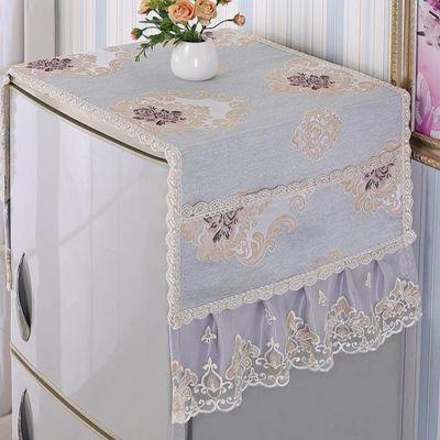 防水床头柜盖布套罩卧室简约万能盖巾多用防尘布家具冰箱遮盖