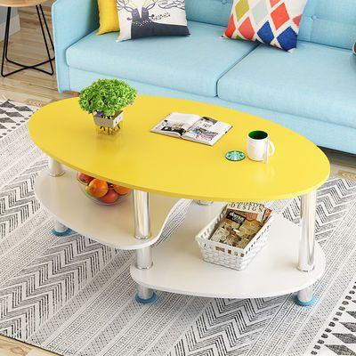 茶几简约现代小户型客厅沙发边柜边几小圆桌家用北欧风飘窗小桌子