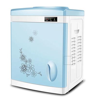 新款带门台式饮水机迷你型温热冰温热学生宿舍办公室家用包邮