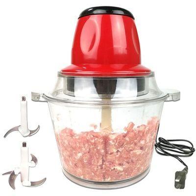 绞肉机家用电动多功能搅拌料理饺子馅切打粉碎辣椒小型菜蒜泥神器