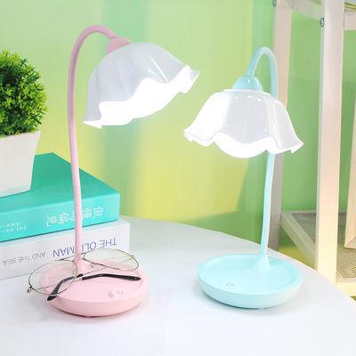 护眼LED台灯可USB充电式大学生宿舍学习书桌儿童写字卧室床头夜灯