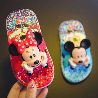 新款儿童拖鞋夏女童凉拖家用室内防滑托鞋女公主男童小孩米奇软底