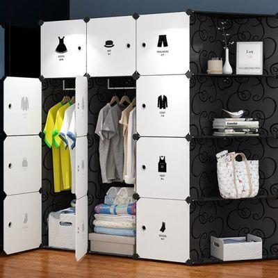 衣柜简易布衣柜简易布衣柜单人衣柜经济新疆包邮简易衣架衣柜布艺