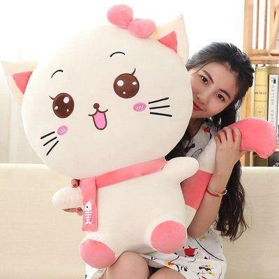 毛绒玩具猫猫咪公仔抱枕玩偶布娃娃女生生日儿童情侣礼物可爱新年
