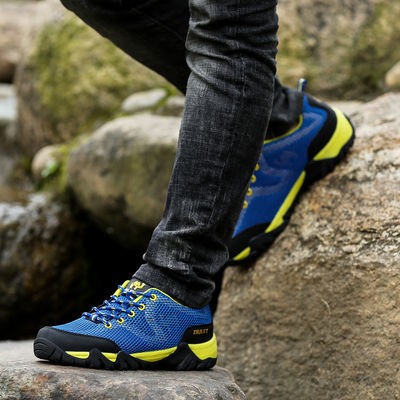 崎峰骆驼男鞋男士运动鞋户外登山鞋休闲徒步旅游鞋透气春夏季大码
