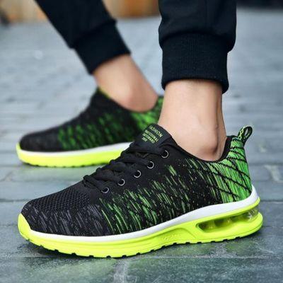 运动鞋男潮鞋登山休息大码高中流行复古训练中学运动鞋男跑步鞋