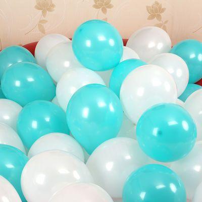 白色金色银色黑色透明加厚乳胶气球儿童成人生日派装饰结婚成都