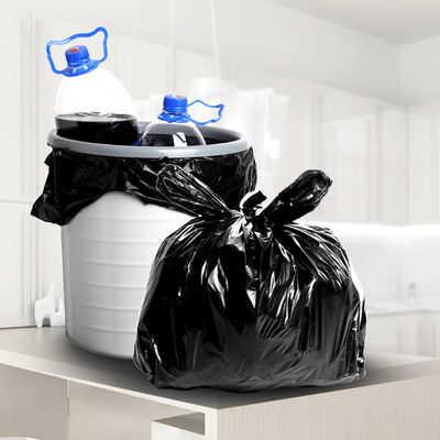 黑色大号垃圾袋加厚加大手提垃圾袋子中号小号加厚黑色塑料袋批发