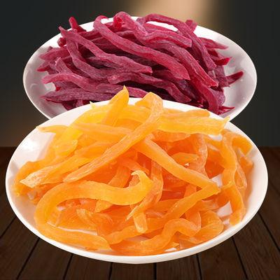 红薯干农家自制红薯条地瓜干连城特产紫薯条休闲零食番薯山芋干片