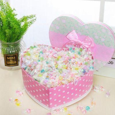 千纸鹤糖果,水果切片糖,礼盒可选零食糖果巧克力糖果批发生日礼物