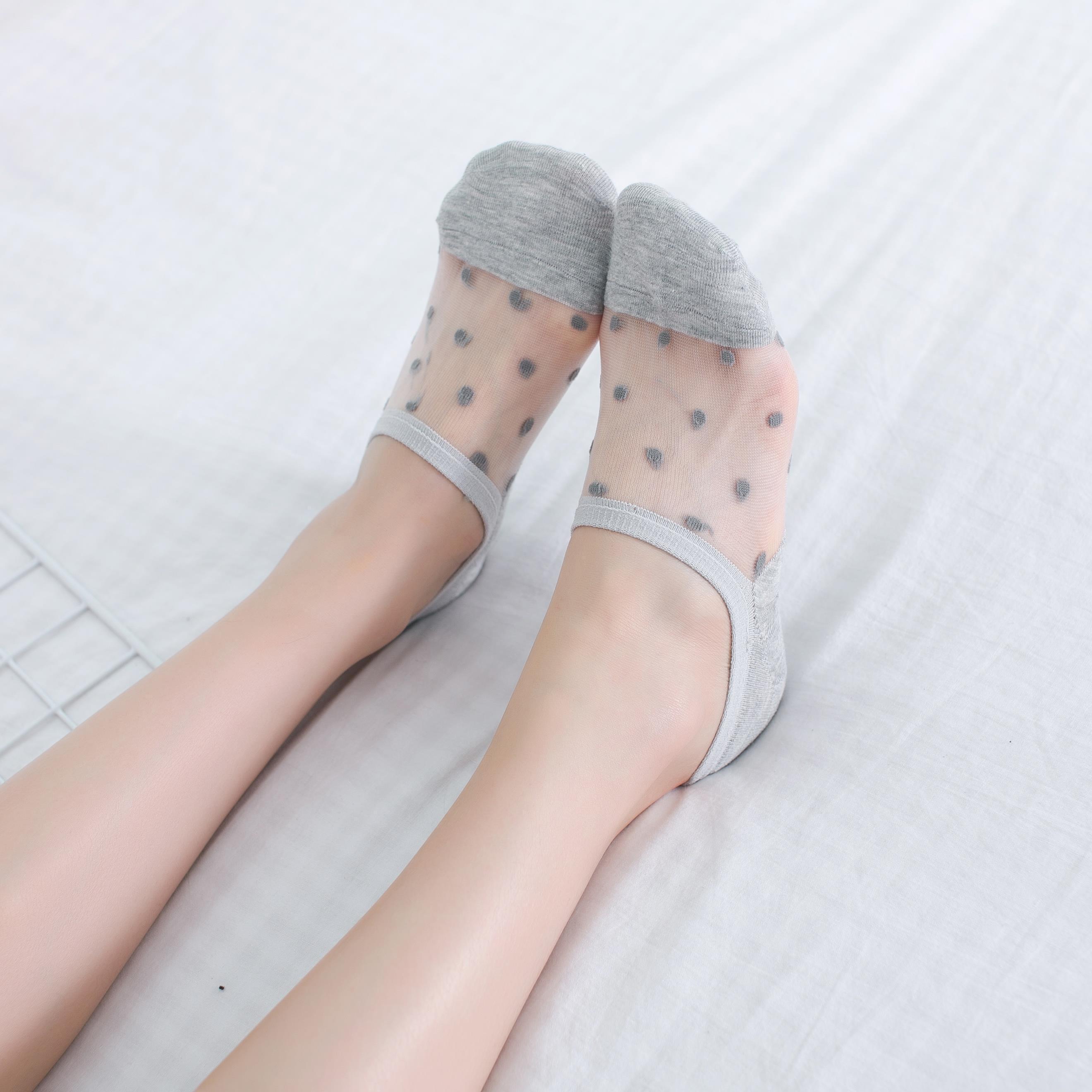 【2-10双】袜子女韩版短袜船袜隐形袜夏季薄款不勾丝不掉跟女袜子