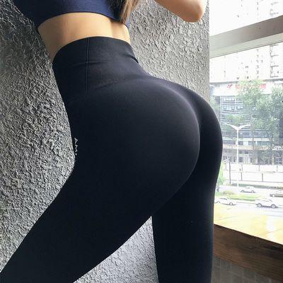 蜜桃臀瑜伽裤女提臀塑形高腰收腹性弹力紧身速干跑步健身运动长裤