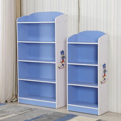 创意卡通儿童书架小学生书柜 环保卧室简易书架组合储物柜置物架