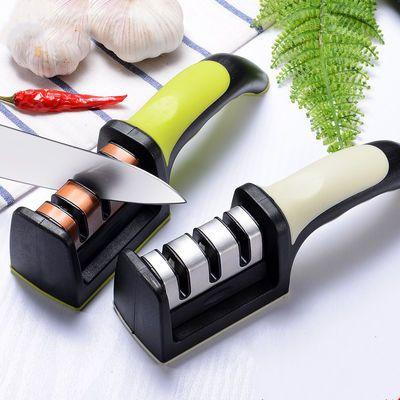 【德国品质】磨刀器家用厨房神器磨刀石磨菜刀用品剪刀棒精磨工具