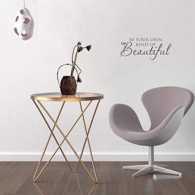 北欧玻璃茶几阳台小圆桌子简约现代创意铁艺客厅ins沙发角边几