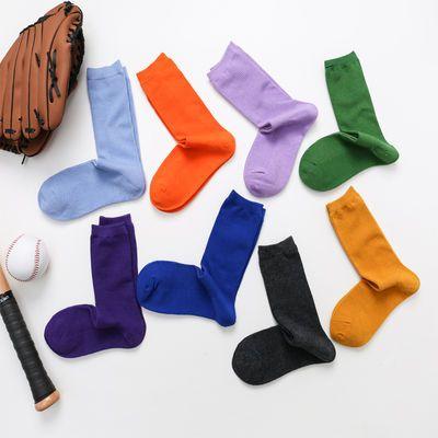 堆堆袜女纯色棉袜松口袜木耳边粉色月子中长筒袜子孕妇产后春秋季