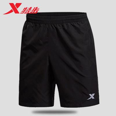 特步运动裤男短裤正品2020夏季新款速干七分裤休闲五分裤运动短裤