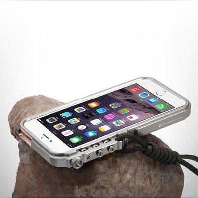 苹果iPhone7/8手机壳x/xs新6plus保护套7p/8p铝合金属防摔6s边框