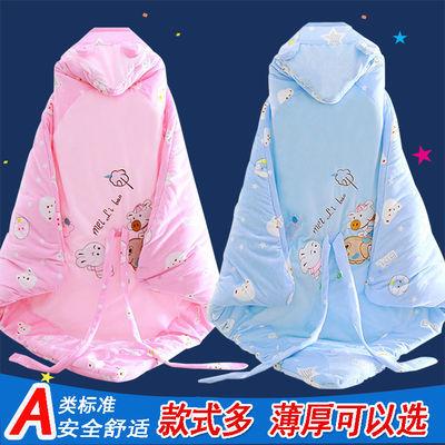 婴儿抱被新生儿纯棉包被子包巾宝宝用品初生抱毯春夏秋冬季厚包被