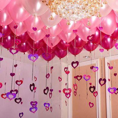 浪漫婚礼婚房装饰结婚气球大号LOVE字母节日纪念日生日派对布置