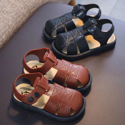 【叫叫鞋】夏男宝宝凉鞋女童0-1岁婴儿防滑软底学步鞋小童鞋包头