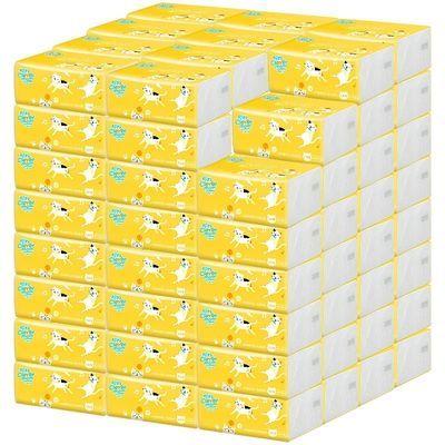 聪妈24包4层330张抽纸巾整箱原木纸巾婴儿家庭装餐巾纸卫生纸批发