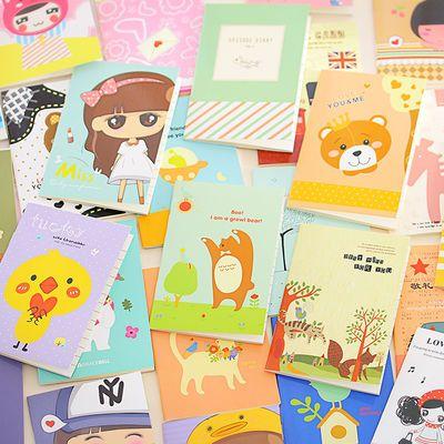 卡通记事本小本子便携小学生奖励奖品礼物随身笔记本文具迷你赠品
