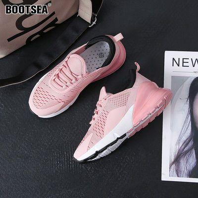 运动鞋女新款跑步2020春 透气休闲学生韩版女士百搭同款ins鞋子女