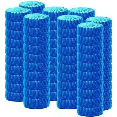 100个蓝泡泡洁厕灵马桶自动清洁剂去污去异味厕所除臭香味洁厕宝
