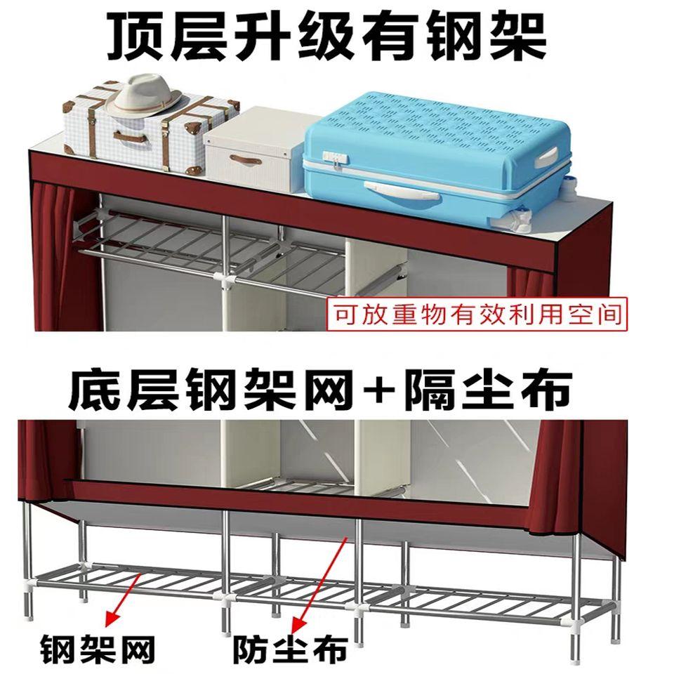 买简易的布衣柜是木制的好还是钢管的好