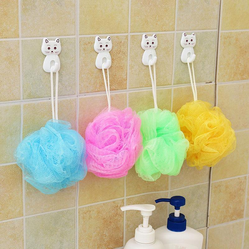 洗澡沐浴球女浴花长条不散搓背神器男搓澡巾泡澡用品沐浴露发泡球