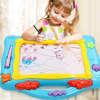 儿童画板磁性写字板宝宝支架式家用无尘涂鸦板小孩可擦笔婴儿玩具