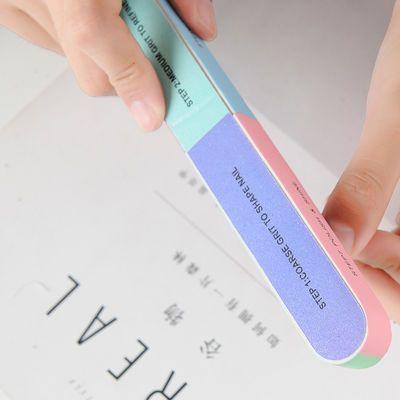 【2个】美甲磨指甲砂条修甲工具磨砂条指甲锉打磨条抛光条海绵